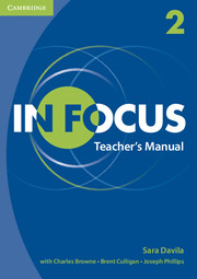 IN FOCUS 2 TEACHER'S MANUAL