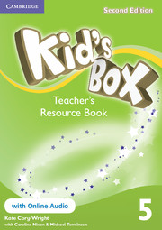 KID'S BOX 5 SECOND EDITION  TEACHER'S RESOURCE BOOK WITH ONLINE AUDIO