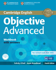 OBJECTIVE ADVANCED 4TH ED. WORKBOOK WITH ANSWERS WITH AUDIO CD