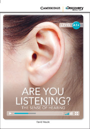 C.D.E.I.R. HIGH BEGINNING - ARE YOU LISTENING? THE SENSE OF HEARING (BOOK WITH ONLINE ACCESS)