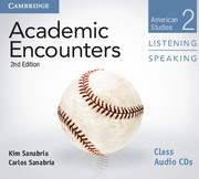 ACADEMIC ENCOUNTERS SECOND EDITION LEVEL 2 CLASS AUDIO CDS (2) LISTENING AND SPEAKING