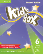 KID'S BOX 6 SECOND EDITION  ACTIVITY BOOK WITH ONLINE RESOURCES