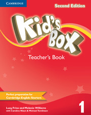 KID'S BOX 1 SECOND EDITION TEACHER'S BOOK