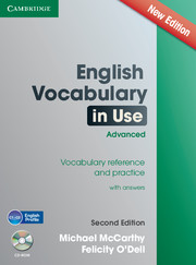 ENGLISH VOCABULARY IN USE ADVANCED WITH CD-ROM (2ND EDITION)