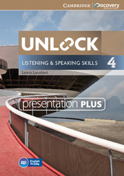 UNLOCK 4 LISTENING AND SPEAKING SKILLS PRESENTATION PLUS DVD-ROM