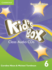 KID'S BOX 6 SECOND EDITION  CLASS AUDIO CDS (4)