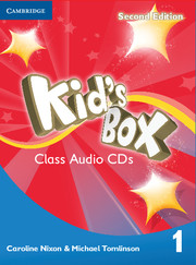 KID'S BOX 1 SECOND EDITION CLASS AUDIO CDS (4)