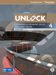 UNLOCK 4 LISTENING AND SPEAKING SKILLS TEACHER'S BOOK WITH DVD