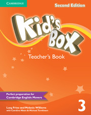 KID'S BOX 3 SECOND EDITION TEACHER'S BOOK