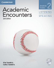 ACADEMIC ENCOUNTERS SECOND EDITION LEVEL 2 STUDENT'S BOOK LISTENING AND SPEAKING WITH DVD