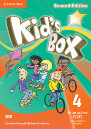 KID'S BOX UPDATED SECOND EDITION 4 INTERACTIVE DVD WITH TEACHER'S BOOKLET