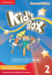 KID'S BOX 2 SECOND EDITION PRESENTATION PLUS