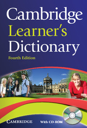 CAMBRIDGE LEARNER'S DICTIONARY 4TH EDITION + CD-ROM