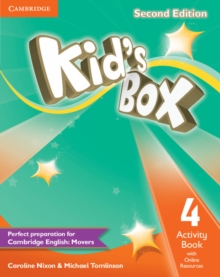 KID'S BOX 4 SECOND EDITION  ACTIVITY BOOK WITH ONLINE RESOURCES