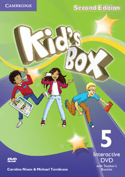KID'S BOX UPDATED SECOND EDITION 5 INTERACTIVE DVD WITH TEACHER'S BOOKLET
