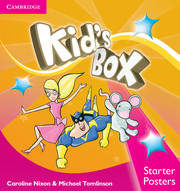 KID'S BOX UPDATED SECOND EDITION STARTER POSTERS (8)