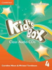 KID'S BOX 4 SECOND EDITION CLASS AUDIO CDS (3)