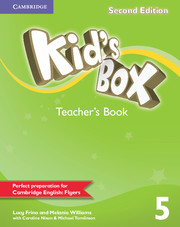 KID'S BOX 5 SECOND EDITION  TEACHER'S BOOK