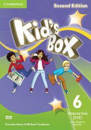 KID'S BOX UPDATED SECOND EDITION 6 INTERACTIVE DVD WITH TEACHER'S BOOKLET