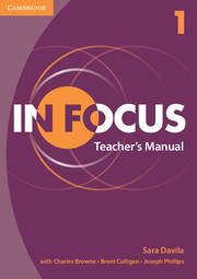 IN FOCUS 1 TEACHER'S MANUAL