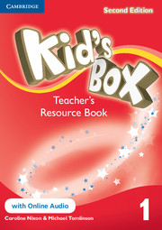 KID'S BOX 1 SECOND EDITION TEACHER'S RESOURCE BOOK WITH ONLINE AUDIO