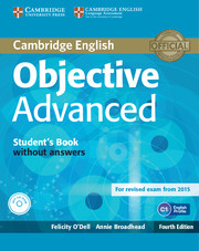 OBJECTIVE ADVANCED 4TH ED. STUDENT'S BOOK WITHOUT ANSWERS WITH CD-ROM