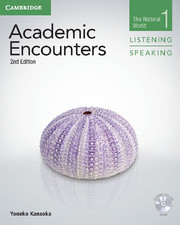 ACADEMIC ENCOUNTERS SECOND EDITION LEVEL 1 STUDENT'S BOOK LISTENING AND SPEAKING WITH DVD