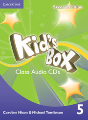 KID'S BOX 5 SECOND EDITION CLASS AUDIO CDS (3)