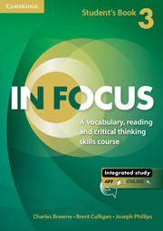 IN FOCUS 3 STUDENT'S BOOK WITH ONLINE RESOURCES