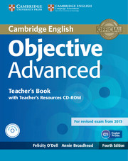 OBJECTIVE ADVANCED 4TH ED. TEACHER'S BOOK WITH CD-ROM