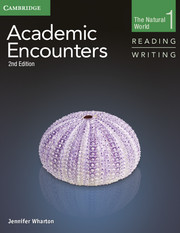 ACADEMIC ENCOUNTERS SECOND EDITION LEVEL 1 STUDENT'S BOOK READING AND WRITING