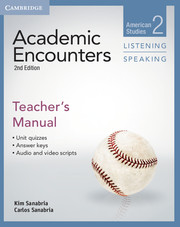 ACADEMIC ENCOUNTERS SECOND EDITION LEVEL 2 TEACHER'S MANUAL LISTENING AND SPEAKING