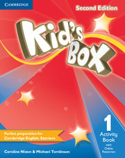 KID'S BOX 1 SECOND EDITION ACTIVITY BOOK WITH ONLINE RESOURCES