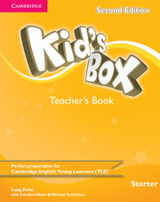 KID'S BOX STARTER SECOND EDITION TEACHER'S BOOK