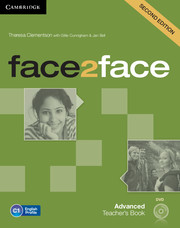 FACE2FACE SECOND EDITION ADVANCED TEACHER'S BOOK WITH DVD