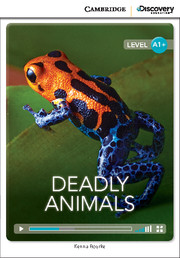 C.D.E.I.R. HIGH BEGINNING - DEADLY ANIMALS (BOOK WITH ONLINE ACCESS)