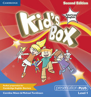 KID'S BOX 1 SECOND EDITION PRESENTATION PLUS