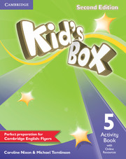 KID'S BOX 5 SECOND EDITION  ACTIVITY BOOK WITH ONLINE RESOURCES