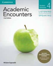 ACADEMIC ENCOUNTERS 2ND ED. 4 STUDENT'S BOOK LISTENING AND SPEAKING WITH INTEGRATED DIGITAL LEARNING