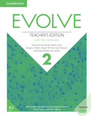 EVOLVE 2 TEACHER'S EDITION WITH TEST GENERATOR
