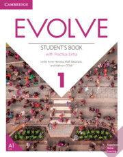 EVOLVE 1 STUDENT'S BOOK WITH PRACTICE EXTRA