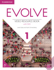 EVOLVE 1 VIDEO RESOURCE BOOK AND DVD