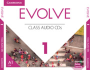 EVOLVE 1 CLASS AUDIO CDS (AMERICAN ENGLISH)