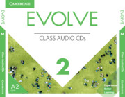 EVOLVE 2 CLASS AUDIO CDS (AMERICAN ENGLISH)