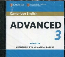 CAMBRIDGE ENGLISH ADVANCED 3 AUDIO CDS (2)