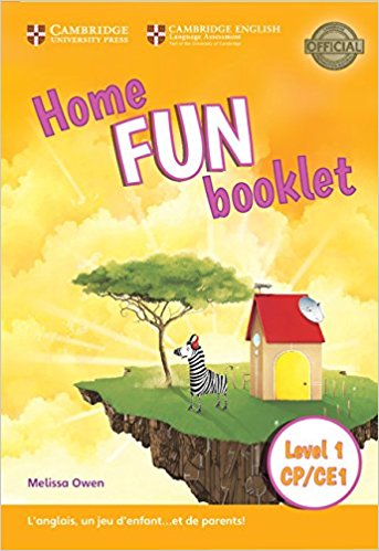 HOME FUN BOOKLET CP/CE1