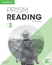 PRISM READING 3 TEACHER'S MANUAL