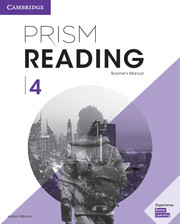 PRISM READING 4 TEACHER'S MANUAL