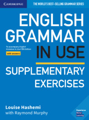 ENGLISH GRAMMAR IN USE SUPPLEMENTARY EXERCISES FIFTH EDITION WITH ANSWERS