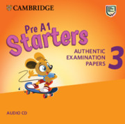 CAMBRIDGE ENGLISH YOUNG LEARNERS 3 FOR REVISED EXAM STARTERS AUDIO CDS (2)